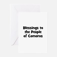 Blessings to the People of Co Greeting Cards (Pk o