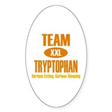 Team Tryptophan Oval Decal
