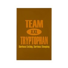 Team Tryptophan Rectangle Magnet