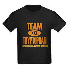 Team Tryptophan Kids Dark T-Shirt
