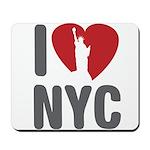 I Love NYC Mousepad
