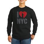 I Love NYC Long Sleeve Dark T-Shirt