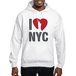 I Love NYC Hooded Sweatshirt