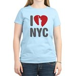 I Love NYC Women's Light T-Shirt