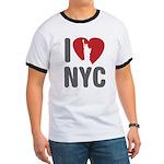 I Love NYC Ringer T