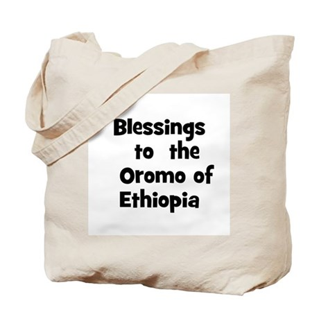 Blessings to the Oromo of Tote Bag