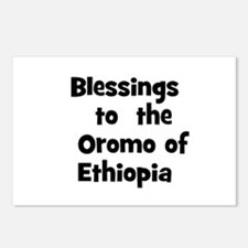 Blessings  to  the  Oromo of  Postcards (Package o
