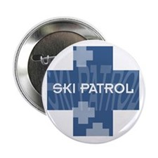 "Ski Patrol 2.25"" Button (10 pack)"