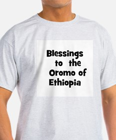 Blessings  to  the  Oromo of  T-Shirt