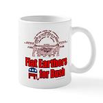 Flat Earthers for Bush Mug