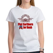 Flat Earthers for Bush Tee