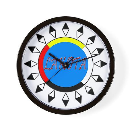 Lakota Wall Clock