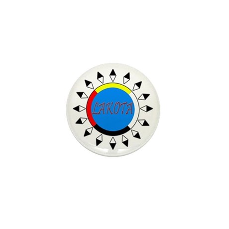 Lakota Mini Button
