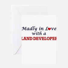 Madly in love with a Land Developer Greeting Cards