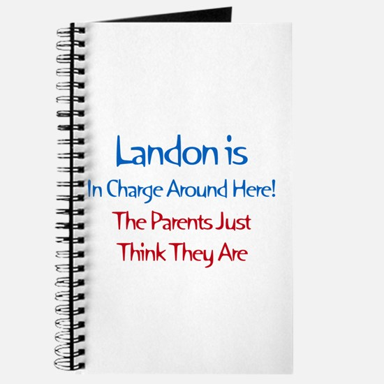 Landon Is In Charge Journal
