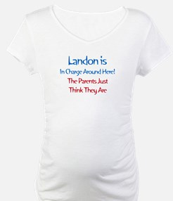 Landon Is In Charge Shirt
