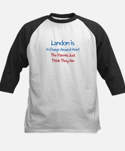 Landon Is In Charge Tee