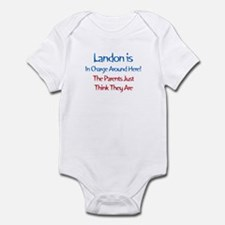 Landon Is In Charge Infant Bodysuit