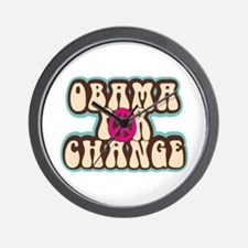 Obama for Change Wall Clock