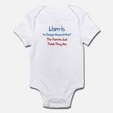 Liam Is In Charge Infant Bodysuit