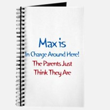 Max Is In Charge Journal