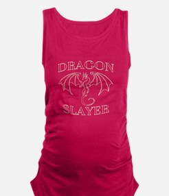 Dragon Slayer White Tank Top