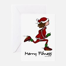 Merry Fitness Greeting Cards (Pk of 20)