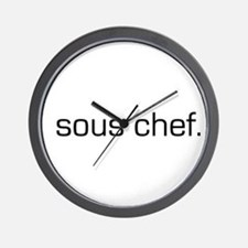 Sous Chef Wall Clock