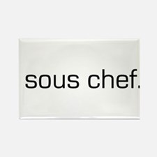 Sous Chef Rectangle Magnet
