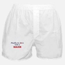 Madly in love with a Major Boxer Shorts