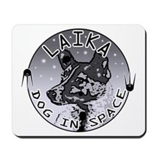 Laika: Dog in Space Mousepad