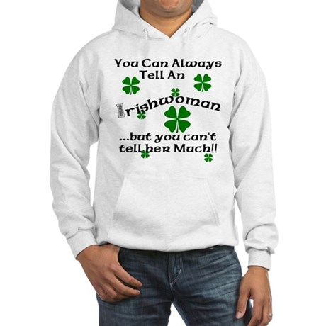 Irish Woman Hooded Sweatshirt