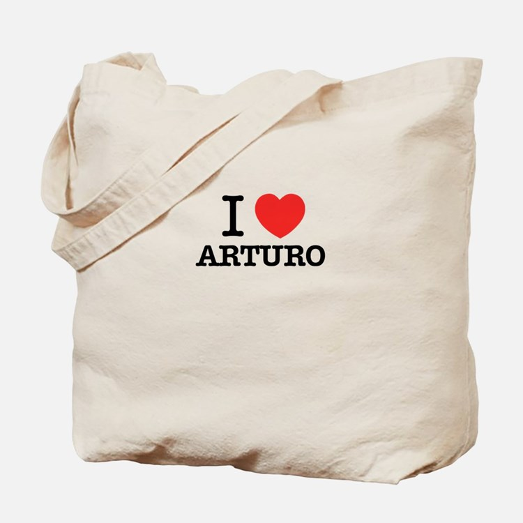 I Love ARTURO Tote Bag