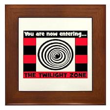 YOU ARE NOW ENTERING #2 Framed Tile