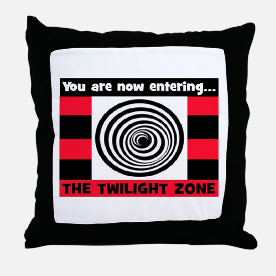 YOU ARE NOW ENTERING #2 Throw Pillow