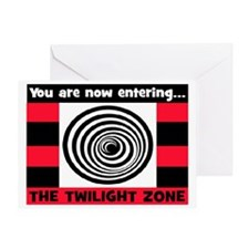 YOU ARE NOW ENTERING #2 Greeting Card
