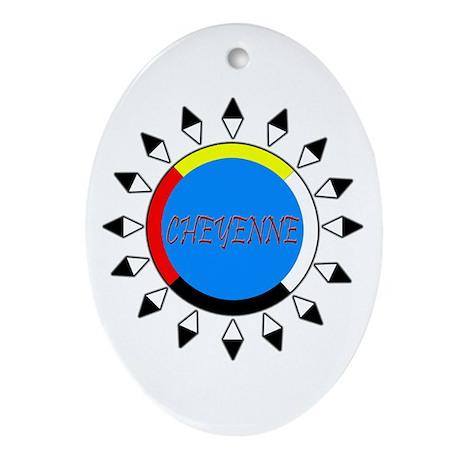 Cheyenne Ornament (Oval)