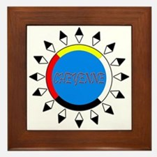 Cheyenne Framed Tile