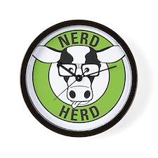 Nerd Herd Wall Clock