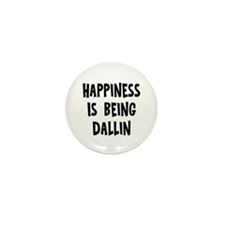 Happiness is being Dallin Mini Button (10 pack)