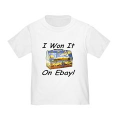 I Won It On Ebay! T