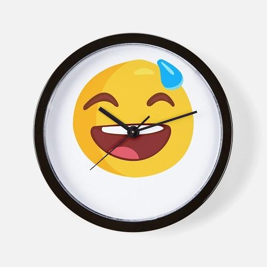 smileys avatar Wall Clock