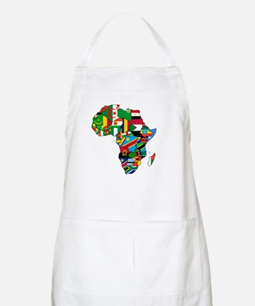Flags of Africa BBQ Apron