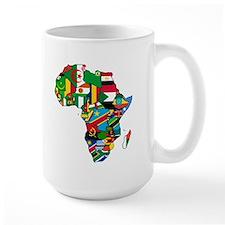 Flags of Africa Mug