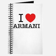 I Love ARMANI Journal