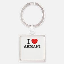 I Love ARMANI Keychains