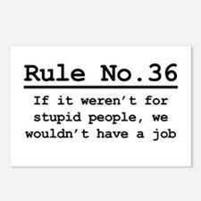 Rule No. 36 Postcards (Package of 8)