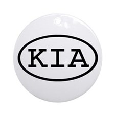 KIA Oval Ornament (Round)
