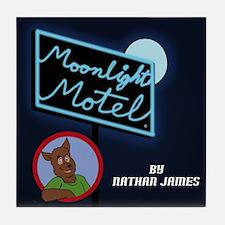 Moonlight Motel Tile Coaster
