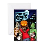 Moonlight Motel Greeting Cards (Pk of 20)